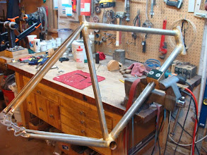 Photo: Fully brazed and soaked, it was a late night brazing session.