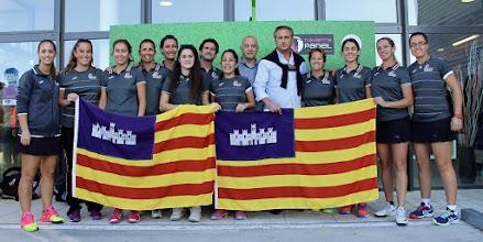 Photo: Selección de #padél Islas Baleares