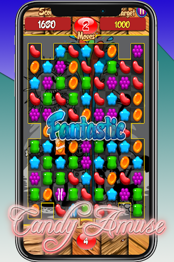 Candy Amuse - Match 3 Game android2mod screenshots 4