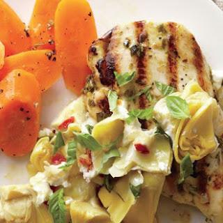 Artichoke Chèvre Chicken Breasts