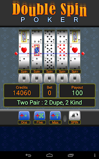 Double Spin Poker- screenshot thumbnail