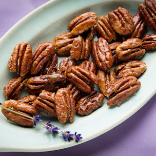 Candied Lavender Pecans Recipe