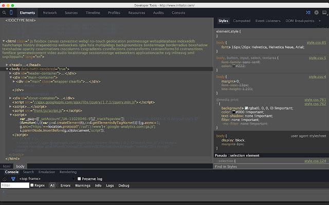 DevTools Theme: Twilight Spacegray