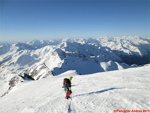 Photo: IMG_2380 Marco e Riccardo sull ultima neve prima della cima