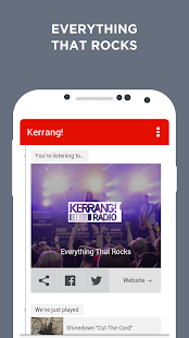 Kerrang! Radio- screenshot thumbnail