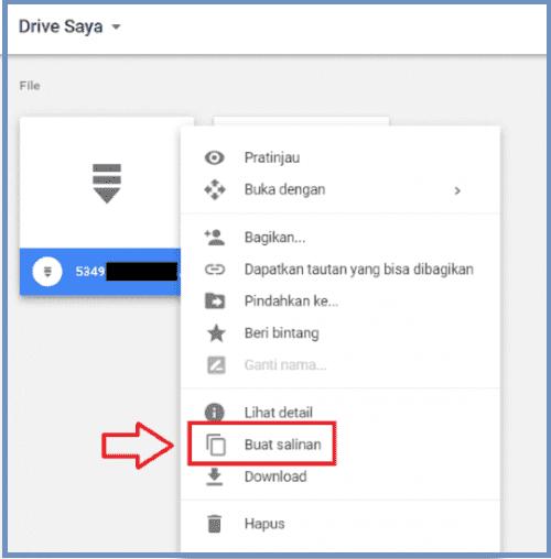 tải xuống Google Drive khi bị giới hạn lượt download 4
