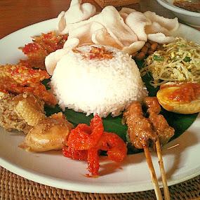 Jpg by Yudya Daton - Food & Drink Eating ( food bali, nasi campur, facebook )