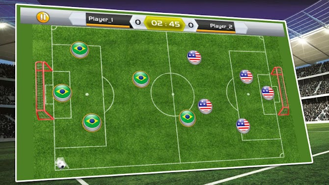 New Soccer Stars 2018 : Carrom King Soccer Game Android 6