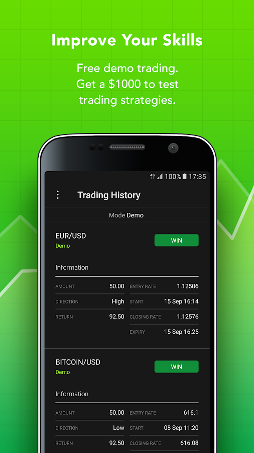 Binary options live trading signals