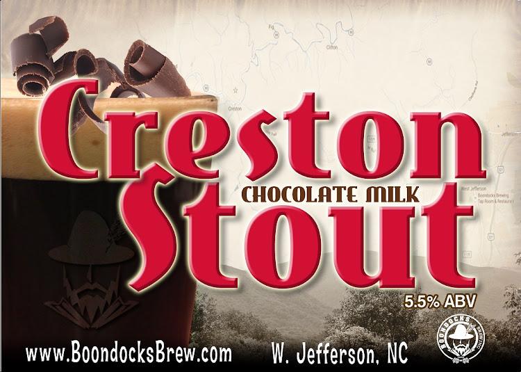 Logo of Boondocks Creston Chocolate Milk Stout