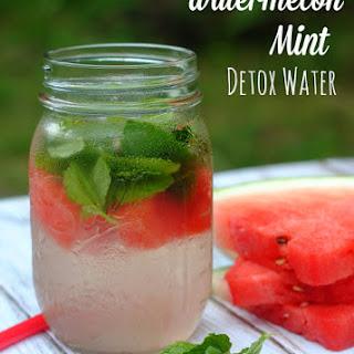 Watermelon Mint Detox Water