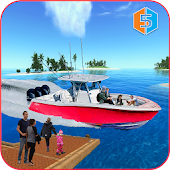 Power boat: Crazy Taxi Sim