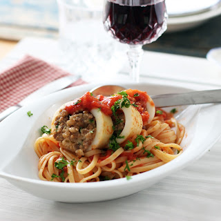 Pasta With Calamari And Shrimp Recipes.