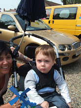 Photo: Noah finishes off his week with Grandma Audrey and welcomes Mum to Family Fun day