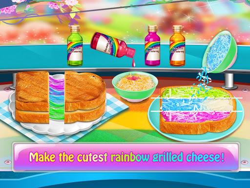 Magic Rainbow Unicorn Foods u2764 Dream Desserts! 1.0 screenshots 2