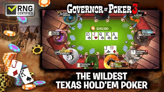 Governor of Poker 3 – Texas Holdem Casino Online 2