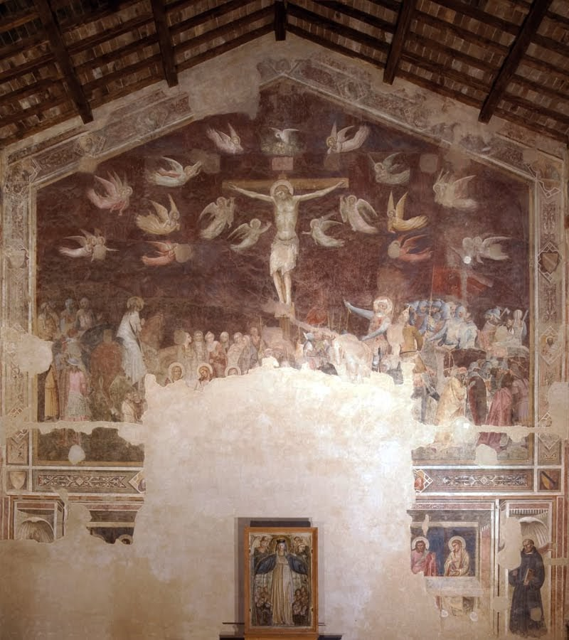 Andrea Orcagna, Crocifissione e ultima cena, Santo Spirito (Fondazione Salvatore Romano)
