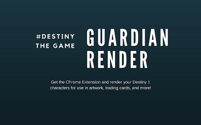 Destiny Guardian Render (Old)
