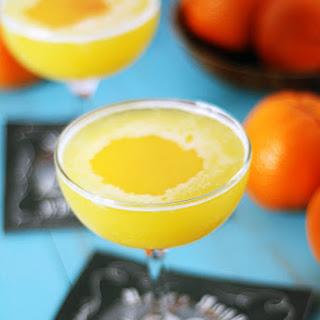 Clementine Gin Fizz.