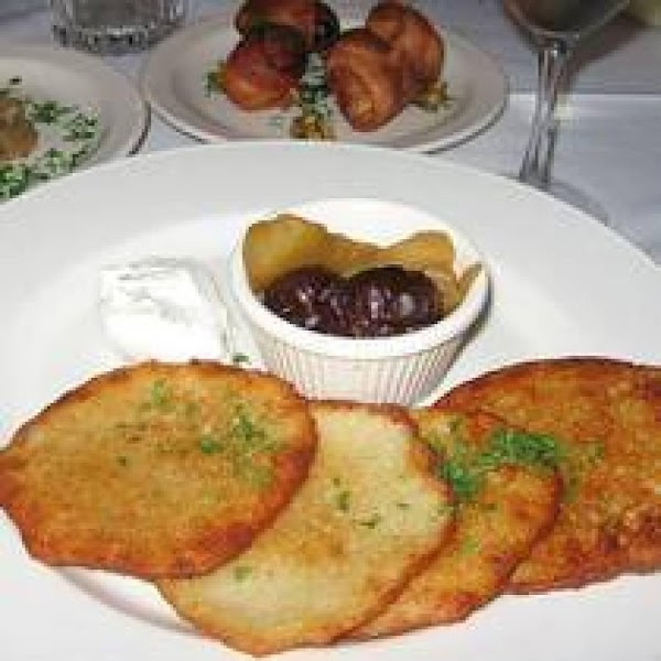 Hungarian Potato Pancakes Recipe