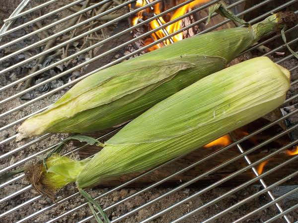 Grill-steamed Corn On The Cob