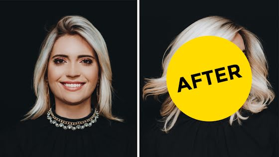 Volume Before & After - YouTube Thumbnail Template