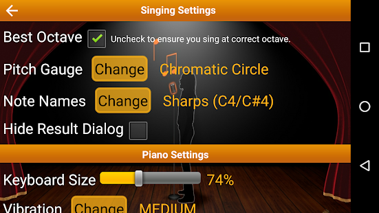 Voice Training Pro Screenshot
