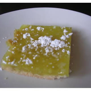 Vegan Lemon Bars.
