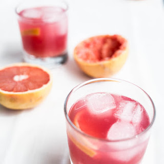 Hibiscus Grapefruit Cocktail.