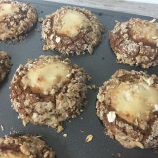 Pumpkin Streusel Cream Cheese Muffins (gluten-free, dairy-free, vegan)