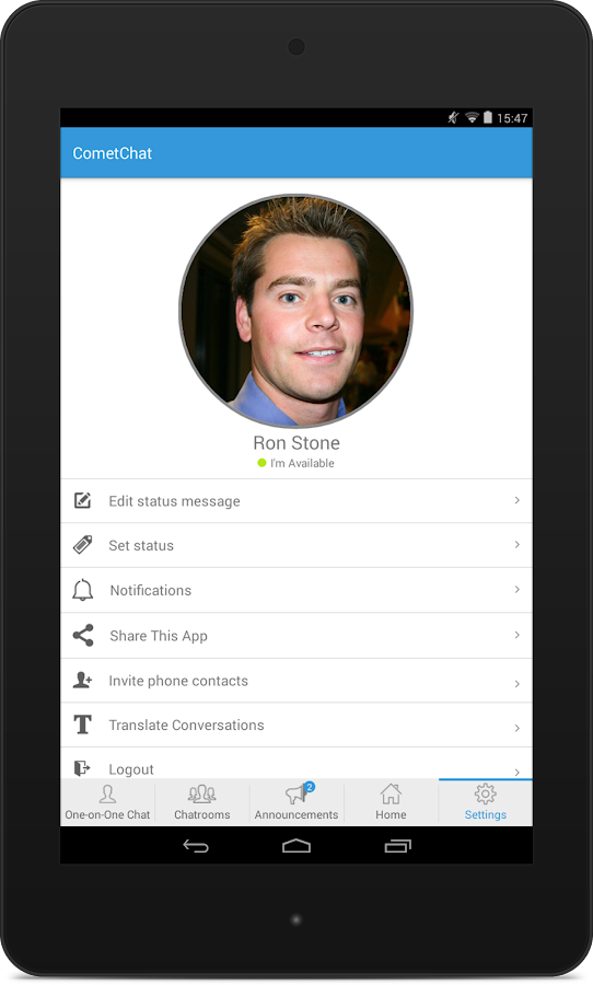 CometChat - screenshot