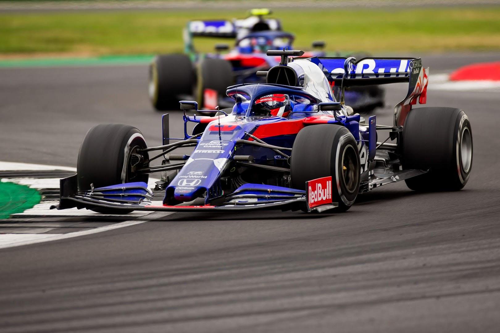 F1第10戦イギリスGP、トロロッソ・ホンダ2台