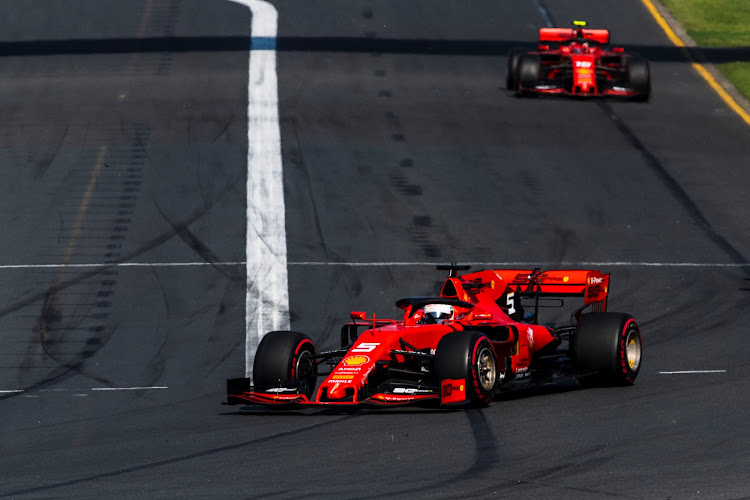 Ferrari seems to have lost its pre-season testing pace.