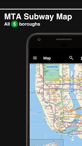 New York Subway – Official MTA map of NYC screenshot