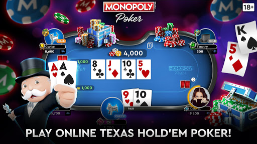 MONOPOLY Poker - The Official Texas Holdem Online apklade screenshots 2