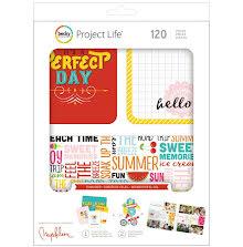 Project Life Value Kit 120/Pkg - Sunkissed