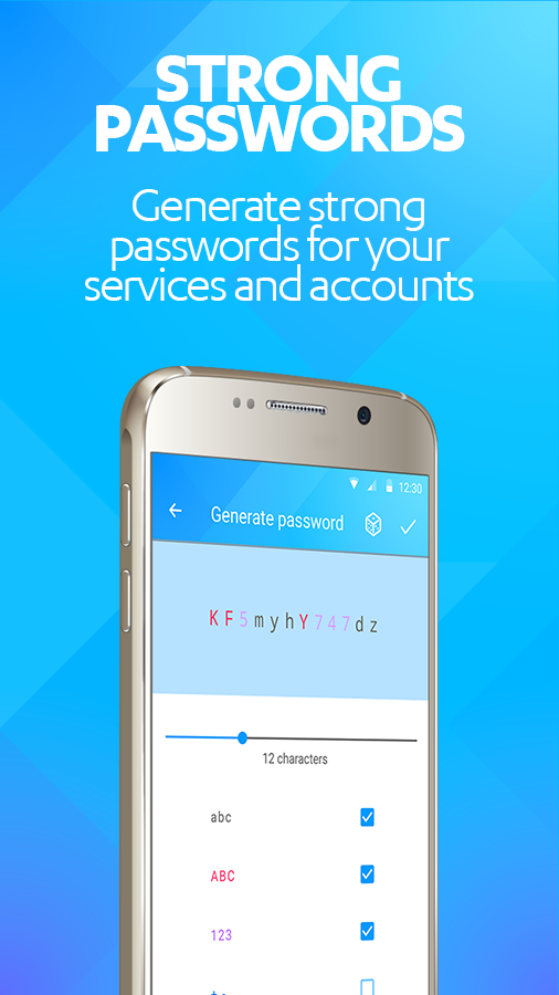 F-Secure KEY Password manager- screenshot