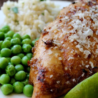 Ginger-Lime Grilled Chicken with Coconut