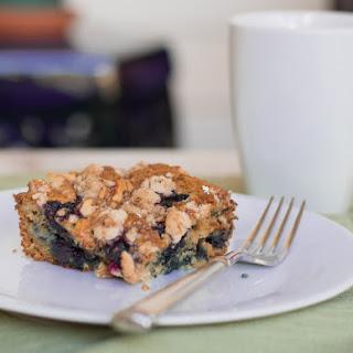 Blueberry Applesauce Coffee Cake
