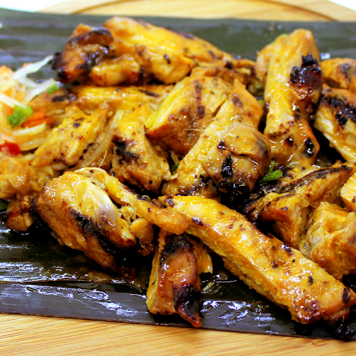 Grilled Chicken Lemongrass Inasal Fillet Rice Combo