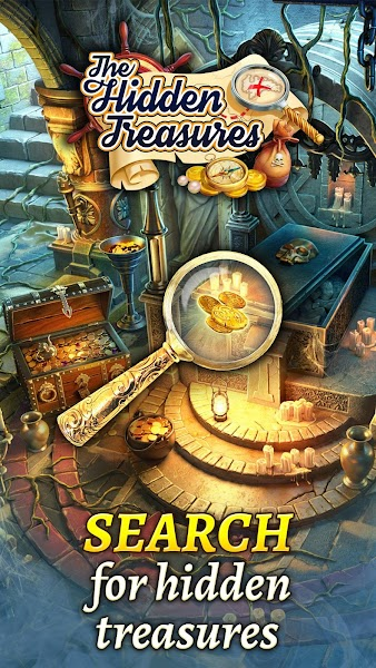 Hidden Treasures: Hidden Object & Match-3 Puzzle