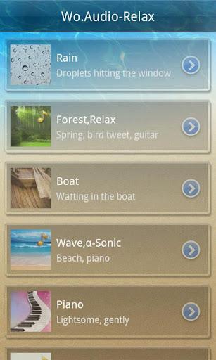 Wo.Audio-Relax screenshot 1