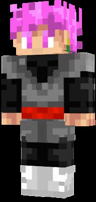 Goku Black Nova Skin - Skins para minecraft pe de goku