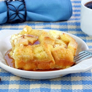 Baked Gluten Free Apple French Toast