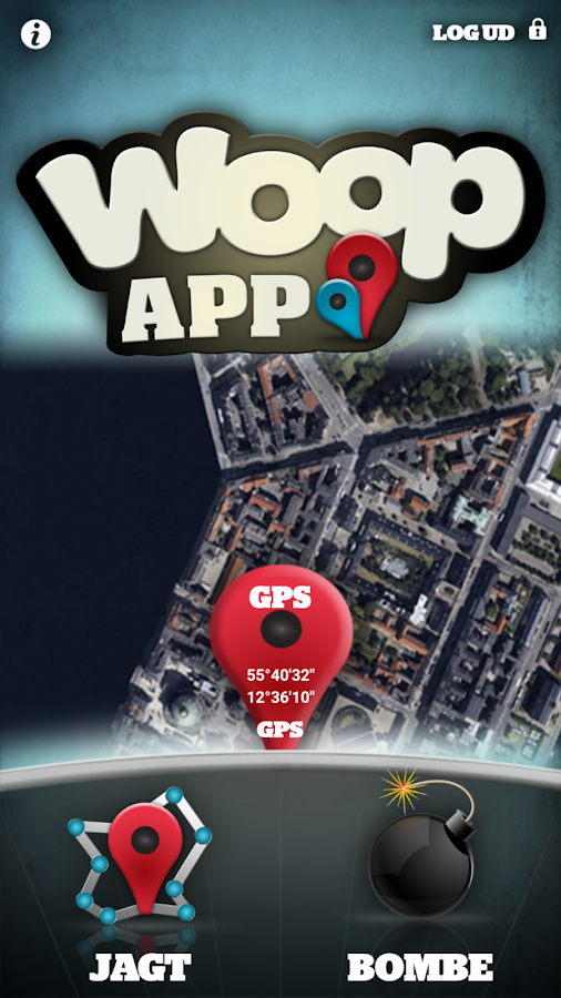 Woop App – screenshot