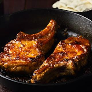Gingery Glazed Pork Chops