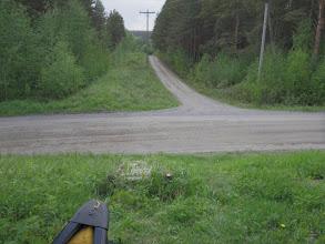 Photo: Alajärven kylän keskustan jälkeen oli ensimmäinen voimalaitoksen ohitus. Tässä vesi on johdettu maanalaiseen tunneliin ja siirtomatkaa tulee kolmisen sataa metriä.
