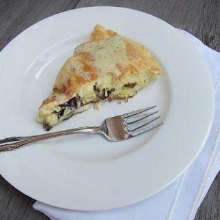 Fluffy Mushroom Souffle Omelette