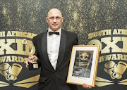 Male Ring official of the year Deon Dwarte during the 2018 Boxing SA Awards at Boardwalk Casino and Hotel on February 02, 2018 in Port Elizabeth, South Africa.