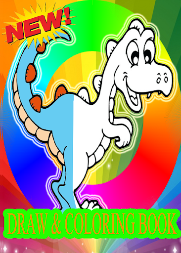 draw & coloring 3D cute magic dinosaurs & dragons for PC